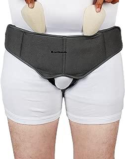 Healthnode(TM) Inguinal Hernia Belt Truss with Special Foam Pads - Hernia Belt Support Superior Comfort and Adjustable Pressure (Large)