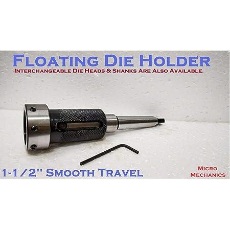 Lathe Tailstock Die Holder Set Of 4 Floating Type MT2 SHANK Holds Metric Die