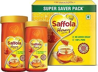 Saffola Honey, 100% Pure NMR tested Honey, 1.5kg (Super Saver Pack)