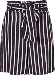 Vero Moda Vmlaura HR Loo Knot Belt Long Shorts Ga Pantaloncini Bermuda Donna