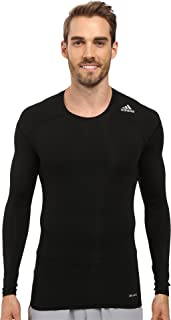 adidas 2015 Techfit Base Mens Long Sleeve Training Shirt