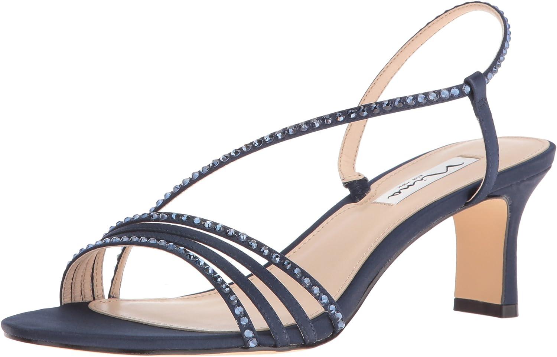 Nina Damen Damen Sandalen, Silber Reflective Suedette, 37 EU  neueste Styles