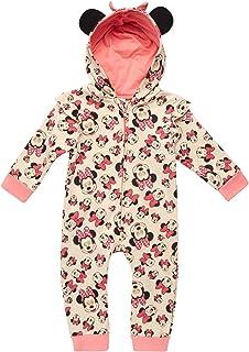 Mono de una pieza con capucha para bebé niña Minnie Mouse (recién nacido y bebé)