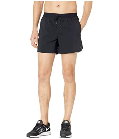Nike Flex Stride Shorts 5 BF (Black/Metallic Silver) Men