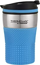THERMOcafe by Thermos Vacuum Insulated Stainless Steel Travel Cup, 200ml, Blue, HV200BL6AUS
