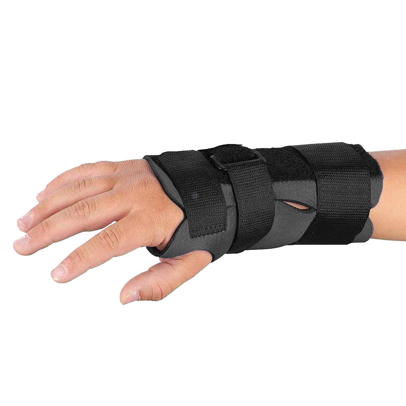 Sammons Preston Breathoprene Pediatric Wrist Splint, Right, X-Small, Orthopedic Support Brace for Tendonitis, Inflammation, Carpal Tunnel, Thumb Injuries & Pain, Breathable & Comfortable Compression