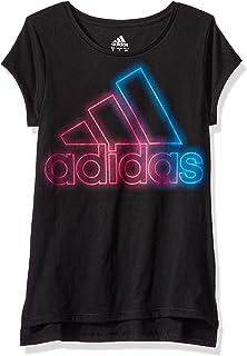 8e150023 adidas Girls' Short Sleeve Graphic Tee Shirts