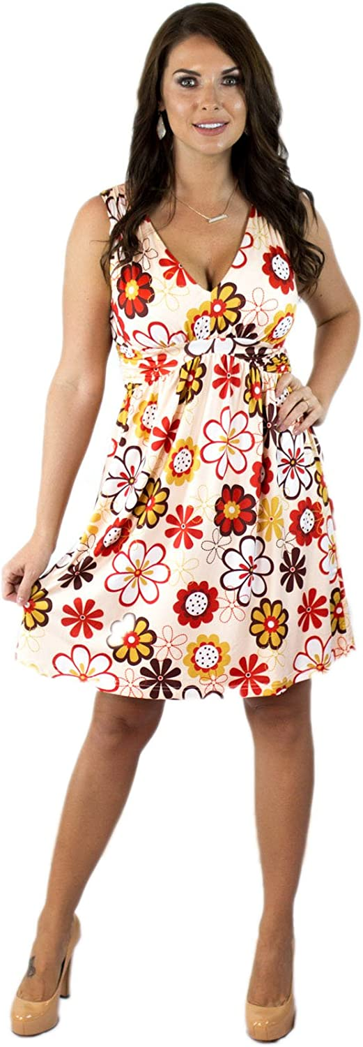 Charm Your Prince Women's Sleeveless Summer Sundress
