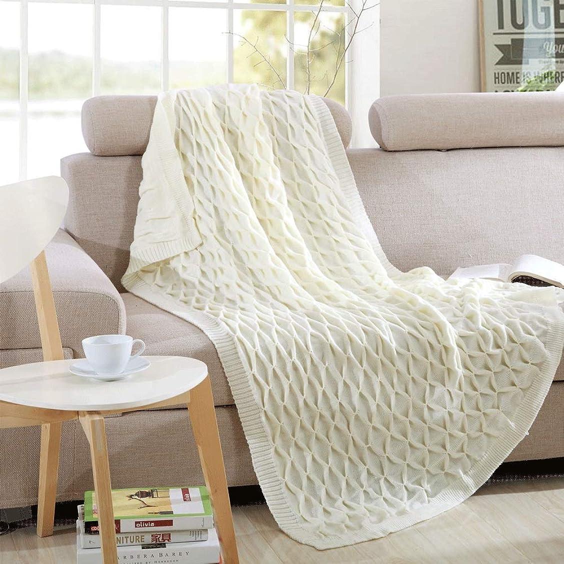 精通した道息を切らしてソフトカウチ毛布 固体柔らかいソファーの投球のソファカバーニットの装飾毛布オールシーズンニット投球毛布のための大人 ルームベッドルームビーチトラベル (Color : 1, Size : 130cmx160cm)