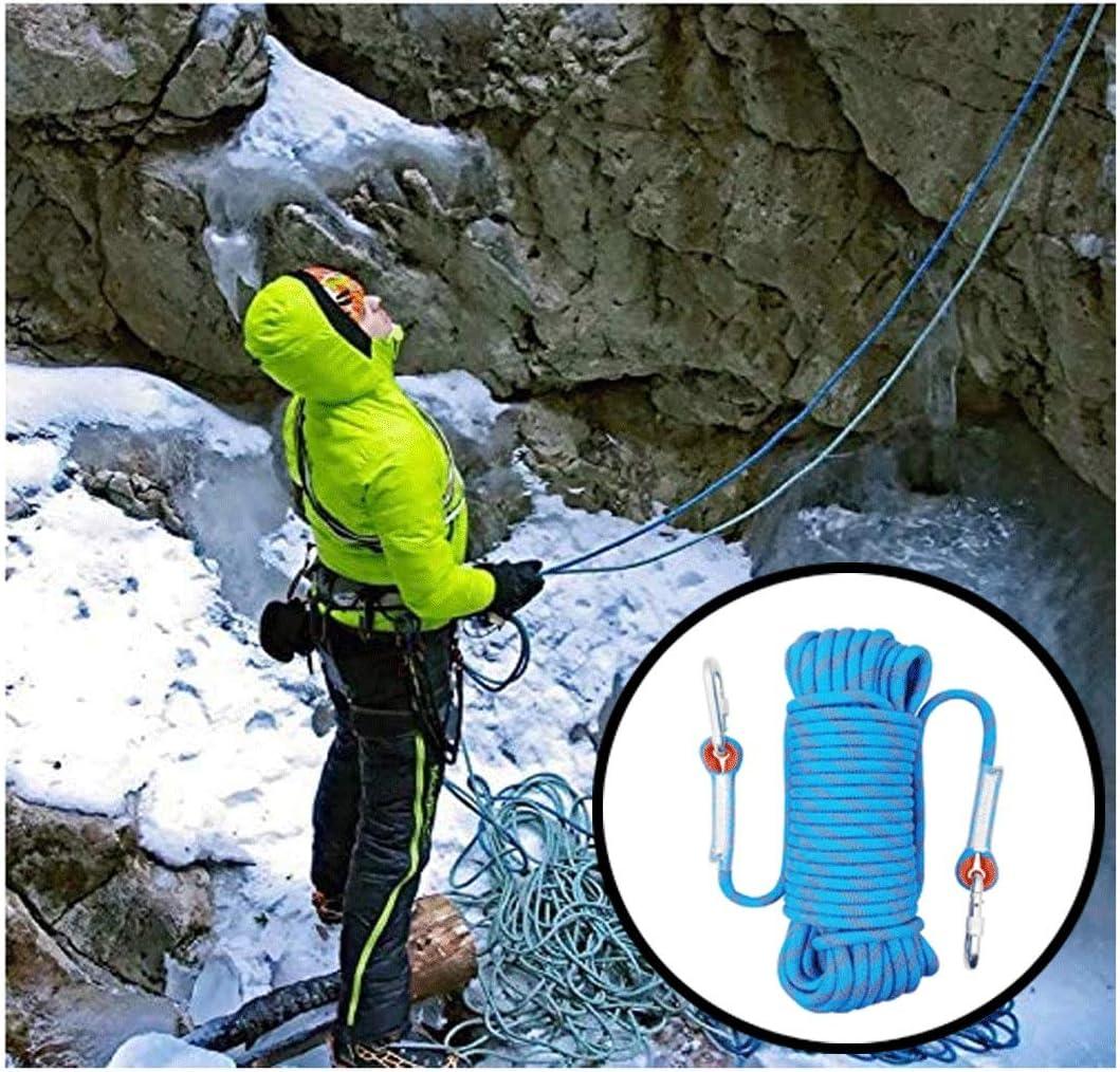ND-Climbing rope Cuerda de Escalada Azul, en línea con Las ...