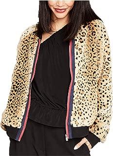RACHEL Rachel Roy 女式人造毛皮飞行员夹克