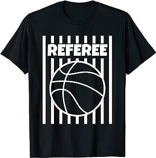 Referee Basketball Ball Gear Outfit Shirt Tshirt