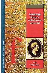 Terminología libraria y crítico-literaria en Marcial Copertina flessibile