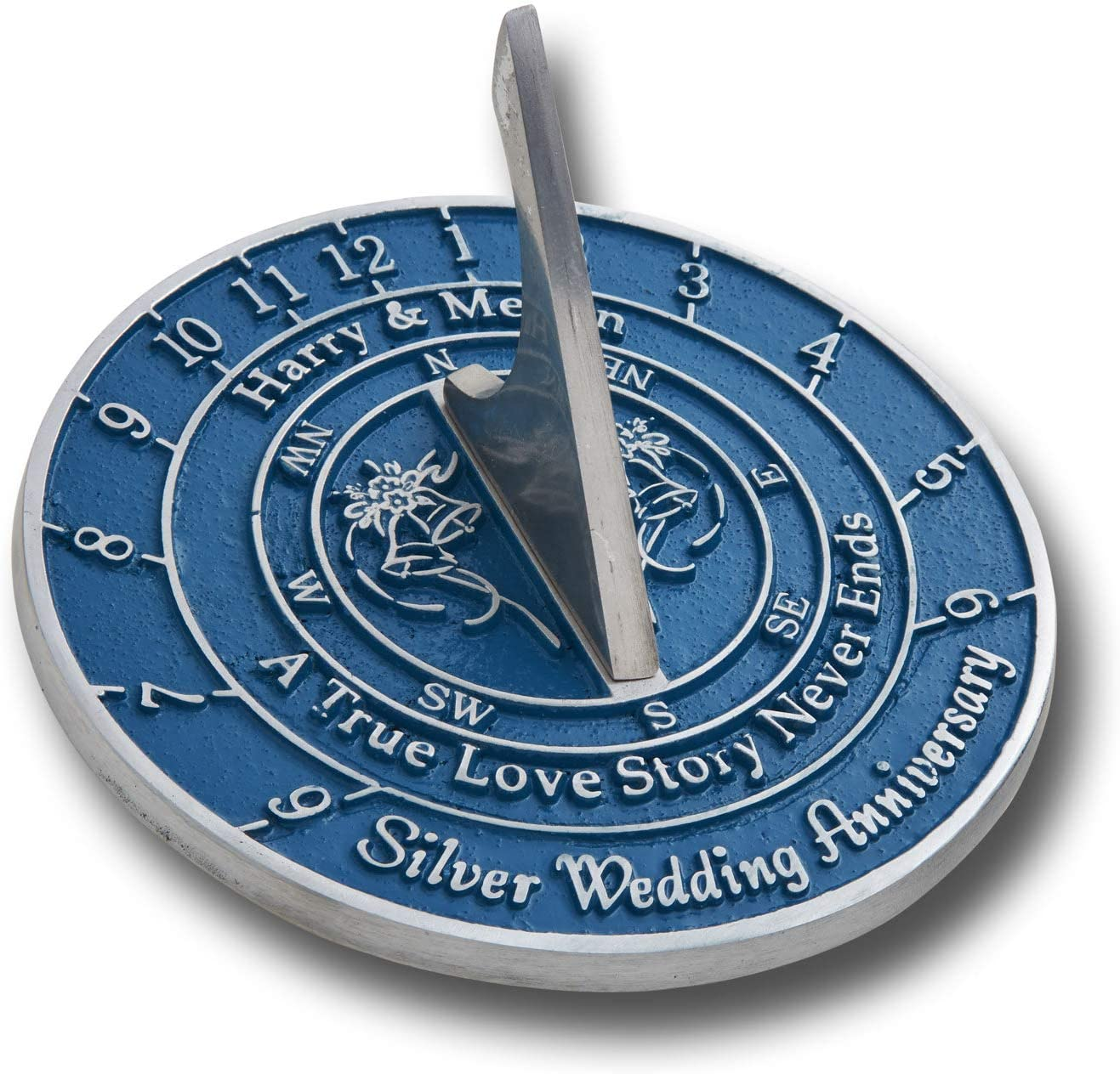 The Metal Foundry Personalized Baltimore Inexpensive Mall 25th Wedding S Silver Anniversary