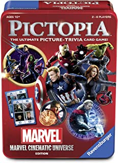 Wonder Forge The Pictopia Game Marvel Cinematic Universe Edition Board Game