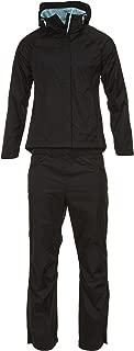 Swiss Alps Womens Lightweight Ripstop Water-Resistant Wind Resistant 2 Piece Suit