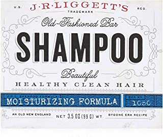 J.R.LIGGETT'S All-Natural Shampoo Bar, Tea Tree & Hemp Oil Formula - Supports Strong and Healthy Hair - Nourish Follicles with Antioxidants and Vitamins - Detergent and Sulfate-Free, One 3.5Ounce Bar