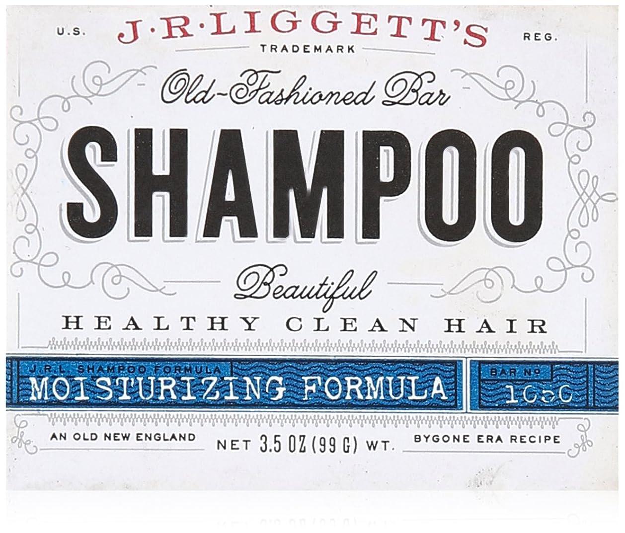 ログ独立した冗談でJ.R. Liggetts Bar Shampoo, Damaged Hair, 3.5 Oz