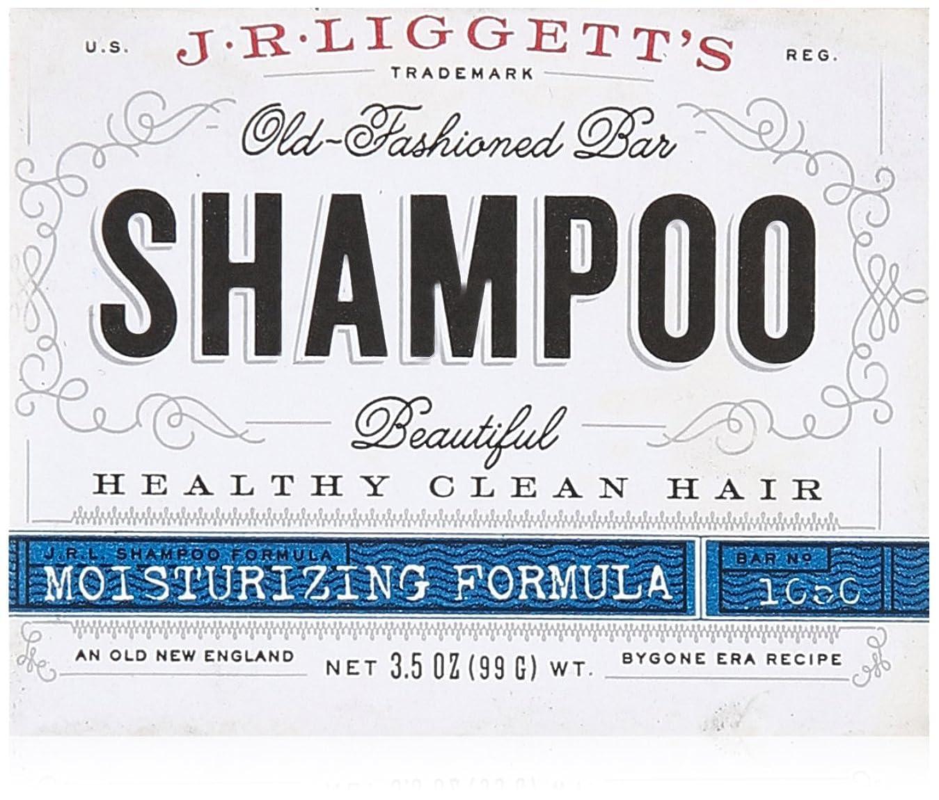 チーム障害者頑丈J.R. Liggetts Bar Shampoo, Damaged Hair, 3.5 Oz