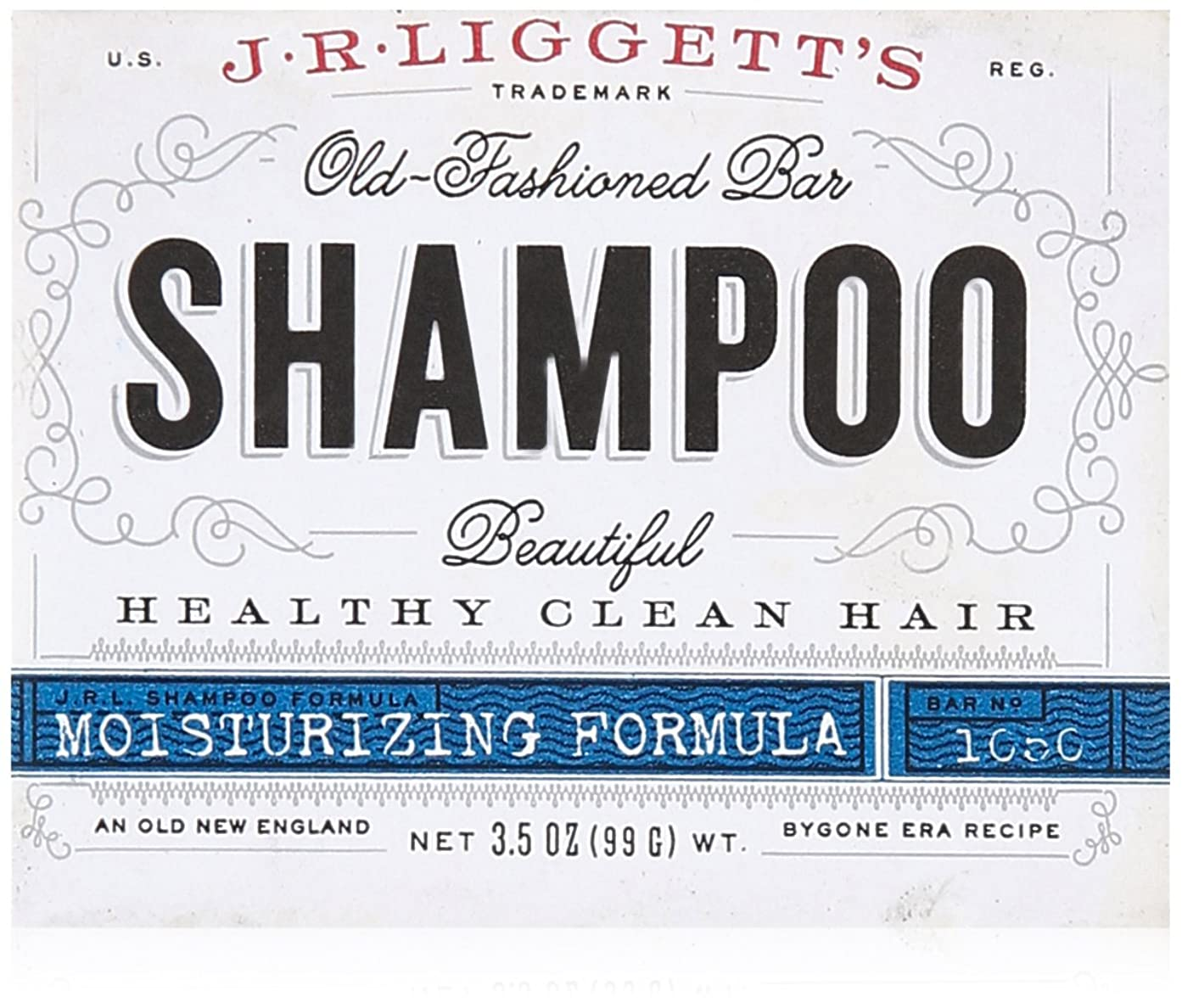 離すスコットランド人罪人J.R. Liggetts Bar Shampoo, Damaged Hair, 3.5 Oz