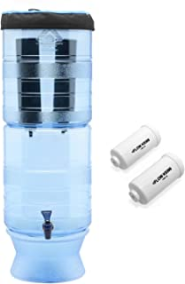 Berkey Light with 2 Black Filters and 2 Fluoride Filters