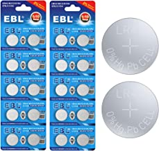 EBL 20 Pack LR44 AG13 357 303 SR44 Alkaline Button Cell Battery