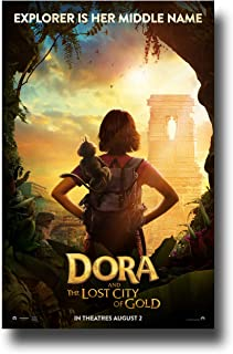 Amazon.com: Dora and the Lost City of Gold poster