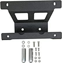 EAG Rear Spare Tire License Plate Relocation Bracket Fit for 2007-2018 Jeep Wrangler JK