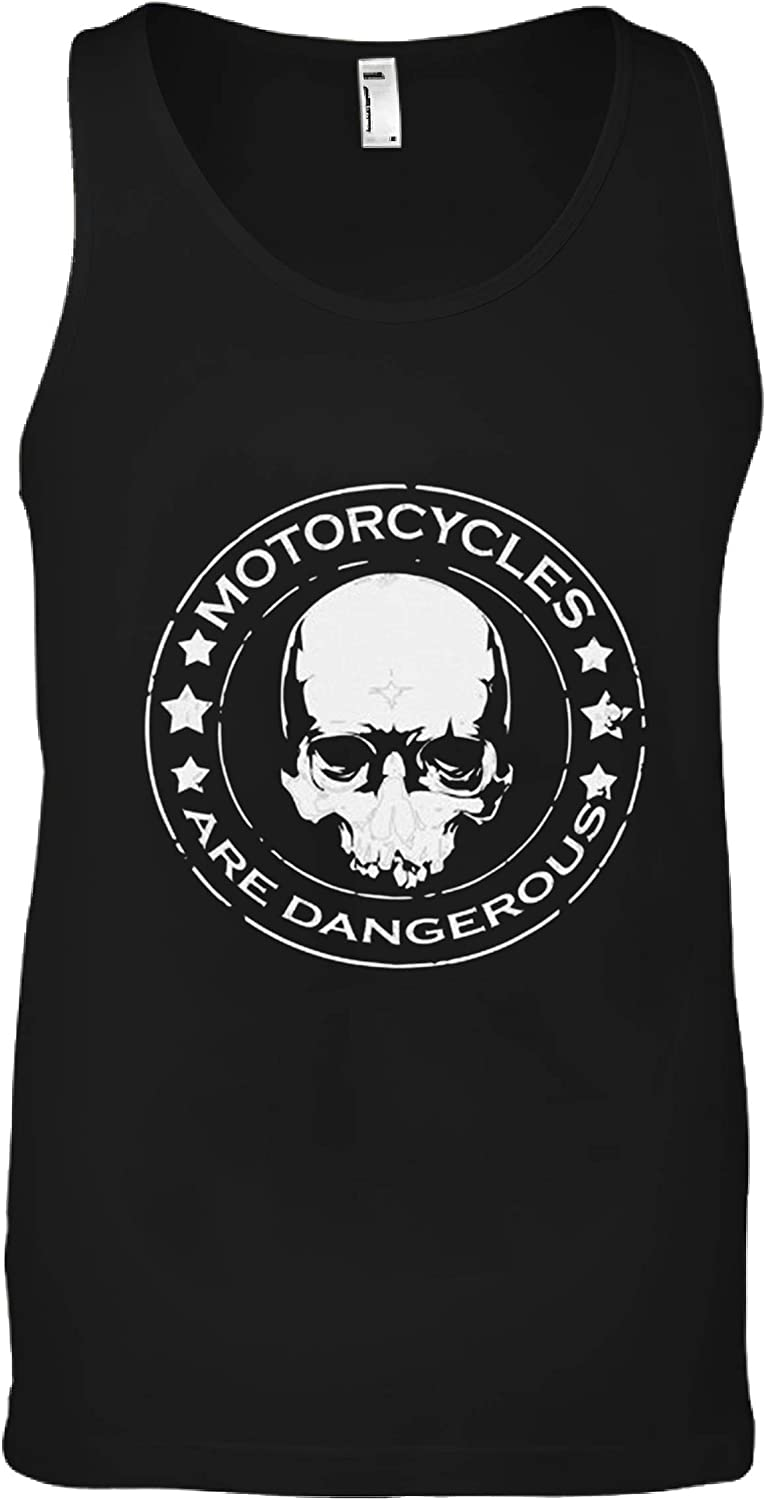 Motorcycles are National products Dangerous Funny T All stores are sold P Shirt Black