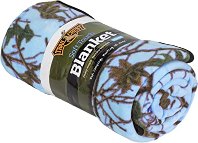 TrailCrest Soft Touch Cozy warm throw Camo Blanket - 50