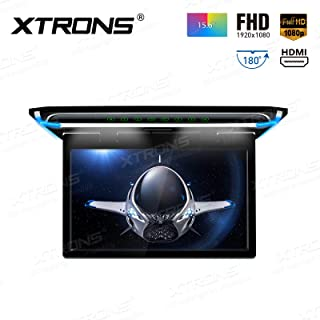 XTRONS 15.6 Inch Ultra-Thin FHD Digital TFT Screen 1080P Video Car Overhead Player Roof Mounted Monitor HDMI Port