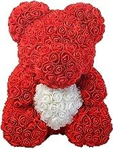 Rose Bear - Anniversary, Best, Perfect & Unique Gift Ideas for Lovers, Women, Men, Teen, Wife, Husband, Him, Her, Teen - 25cm