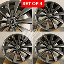 21 inch x 8.5 Wheels Rims Compatible with Tesla Model S Bolt Pattern 5x100/114,3 Set of 4