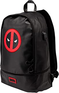 Deadpool Rebel-Mochila Urban TPU, Negro