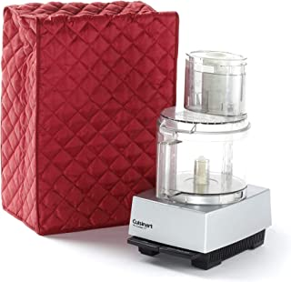 Covermates – Food Processor Cover – 14W x 9D x 14H – Diamond Collection – 2 YR Warranty – Year Around Protection - Red