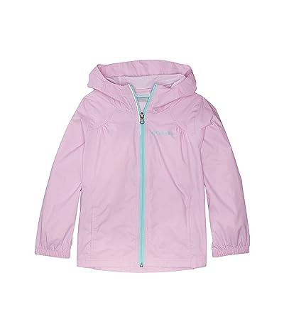 Columbia Kids Switchbacktm Rain Jacket (Little Kids/Big Kids) (Pink Clover/Gulf Stream) Girl