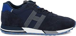 Luxury Fashion | Hogan Men HXM3830AN51N4X50C5 Blue Fabric Sneakers | Spring-summer 20
