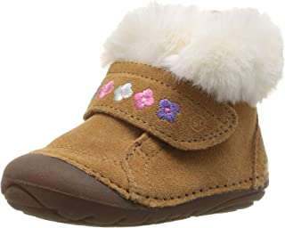Stride Rite Kids Sophie Baby Girl's Adjustable Suede Boot Ankle