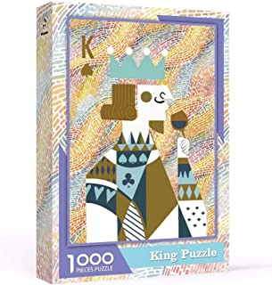 Sponsored Ad - Puzzles for Adults 1000 Piece, Poker K, King Puzzle, Poker Jigsaw Puzzles, Every Fragments is Different 27....