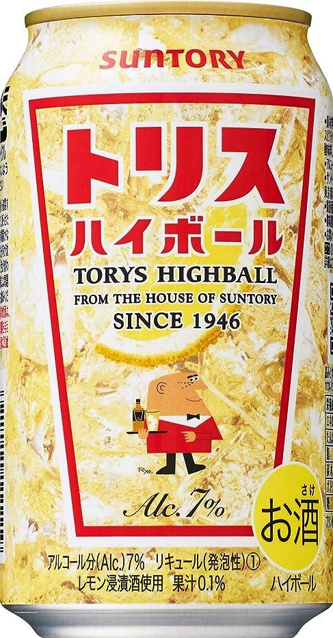 不振通行人バズサントリー トリスハイボール 缶 [ ウイスキー 日本 350ml×24缶 ]
