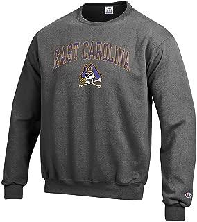 Elite Fan Shop NCAA Men's Crewneck Charcoal Sweatshirt Arch