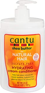 Cantu Shea Butter for Natural Hair Sulfate-Free Hydrating Cream Conditioner, 25 Ounce