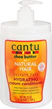 Cantu Shea Butter for Natural Hair Sulfate- Hydrating Cream Conditioner, 25 Ounce