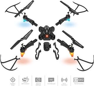 Best Choice Products DIY Detachable RC Drone w/ 2.0MP FPV Camera, Gravity Sensor, Altitude Hold, Headless Mode - Black