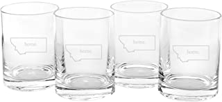 montana drinking glasses