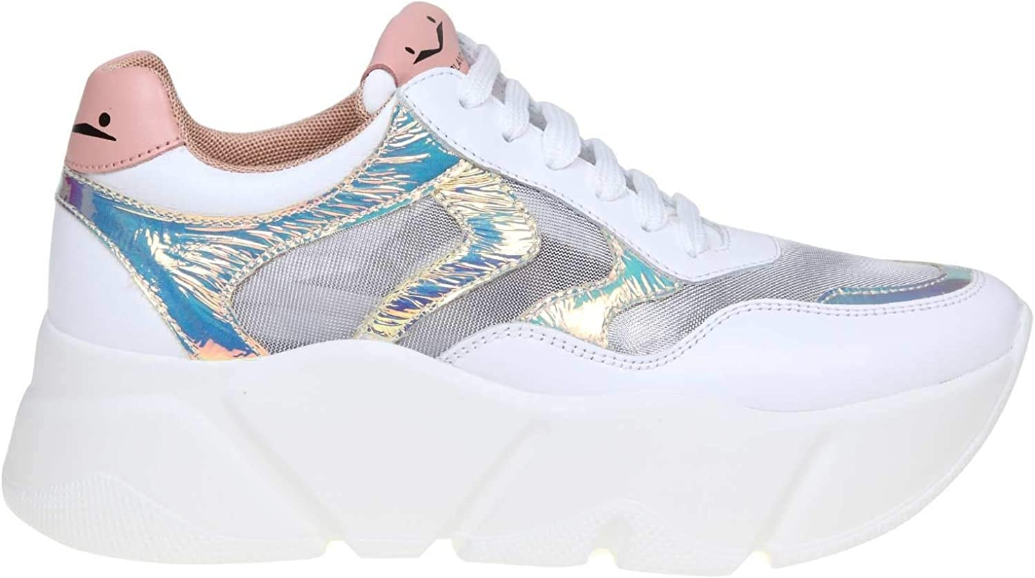VOILE whiteHE Women's 1N02001201359203 White Leather Sneakers