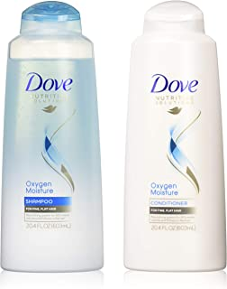 Dove Nutritive Solutions Oxygen Moisture, Shampoo and Conditioner Set, 20.4 Ounce Each