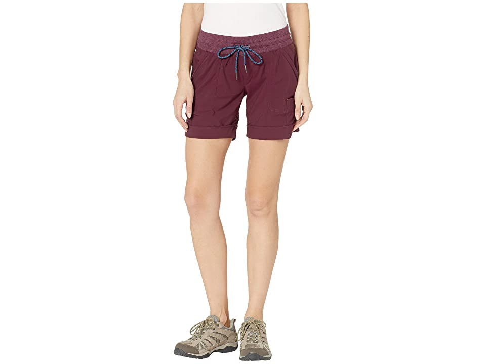 Columbia Pilsner Peaktm Pull-On Cargo Shorts (Deep Madeira) Women