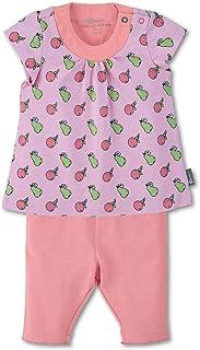 Sterntaler Baby flickor tunika med capri leggings klänning
