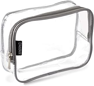 Keokee Clear Toiletry Bag for Carry-on Liquids and Travel Packing Organizer